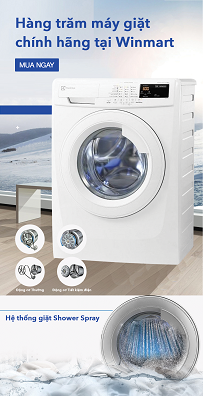 Máy giặt lồng ngang Elextrolux